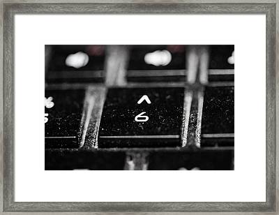Yesterdays Future Framed Print