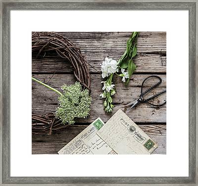 Framed Print featuring the photograph Yesterdays Treasure by Kim Hojnacki