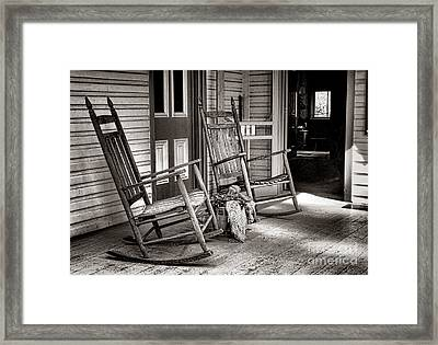 Yesteryear Framed Print by Olivier Le Queinec