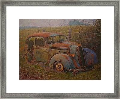 Yesteryear Framed Print by Terry Perham