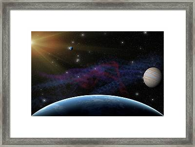 Yet Seen Places Framed Print by James Heckt