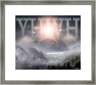 Yhwh Framed Print by Bill Stephens