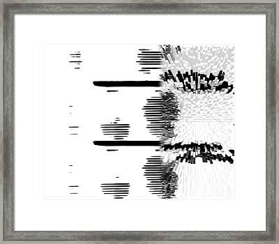 Yi King City Framed Print by Martine Affre Eisenlohr