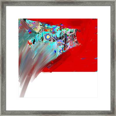 Yikes Framed Print by Dave Kwinter