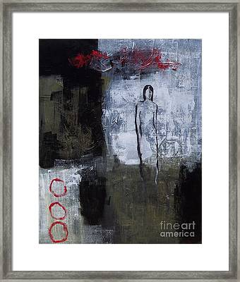 Yin Framed Print by Donna Frost