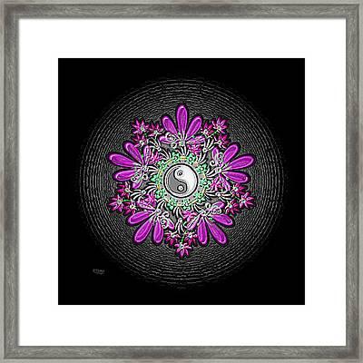 Yin Garden Framed Print