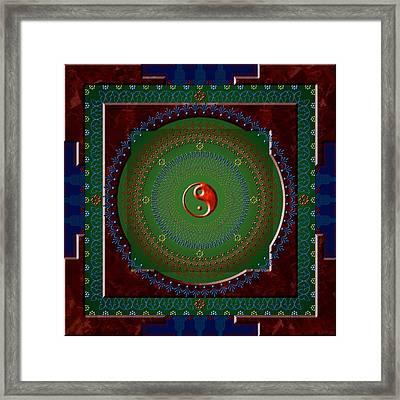 Yin Yang Framed Print by Stephen Lucas