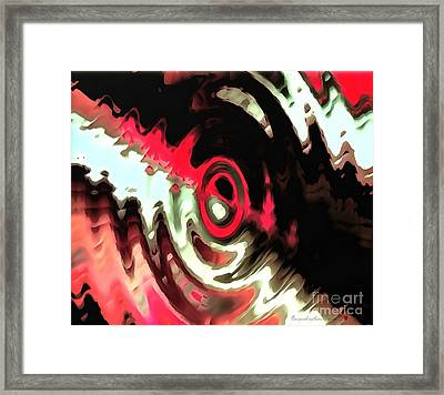 Framed Print featuring the painting Ying Yang by Catherine Lott