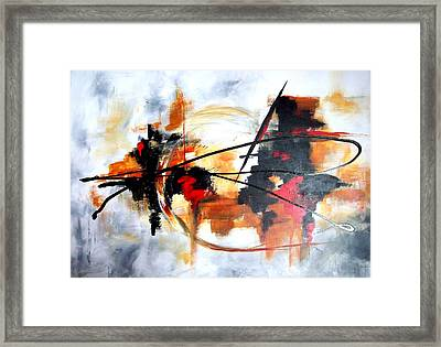 Ying Yang Framed Print by Jane Robinson