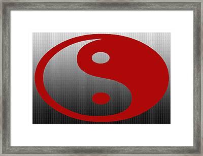Ying Yang Yang Ying Framed Print
