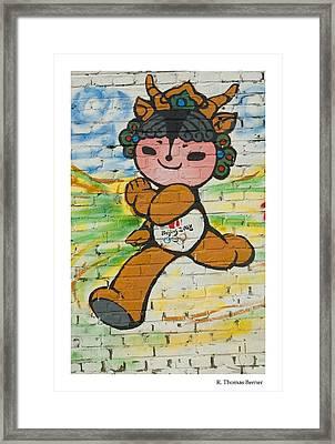 Ying Ying Framed Print by R Thomas Berner