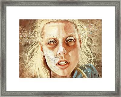 Yo-landi Framed Print by Fay Helfer