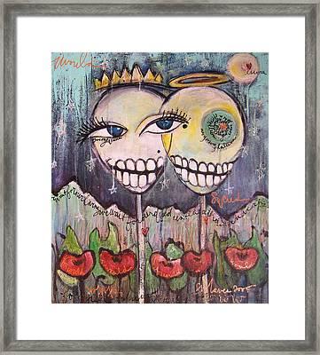 Yo Soy La Luna Framed Print