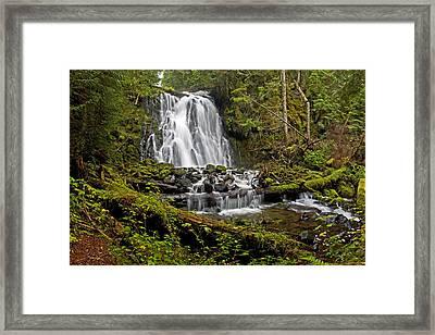 Yocum Falls. Oregon Framed Print