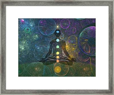 Yoga Framed Print by Harald Dastis