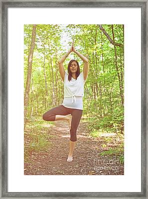 Yoga.. Framed Print