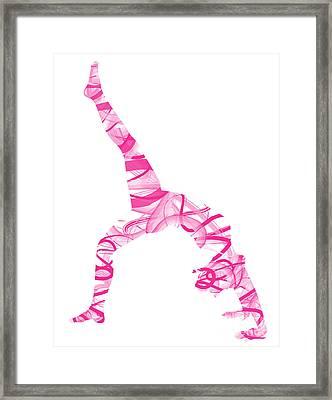 Yoga Pose Fine Art One-legged Framed Print