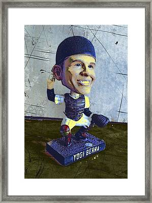 Yogi Berra, Hall Of Famer Framed Print