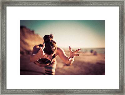 Framed Print featuring the photograph Yogic Gift by T Brian Jones