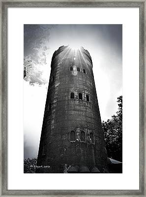 Yokahu Tower Framed Print by Edgar Torres