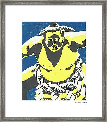Yokozuna Framed Print