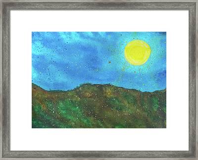 Yokun Ridge Framed Print by Scott Harrington