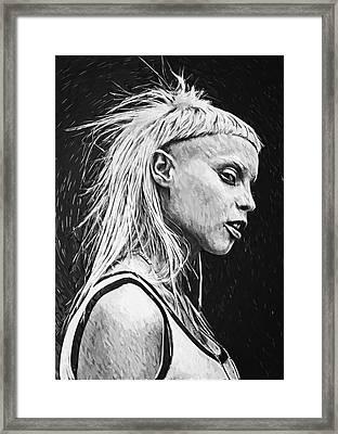 Yolandi Visser Framed Print
