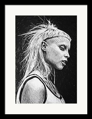 Counterculture Digital Art Framed Prints