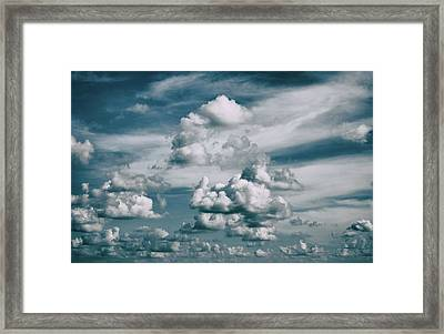 Framed Print featuring the photograph Yonder by Tom Druin