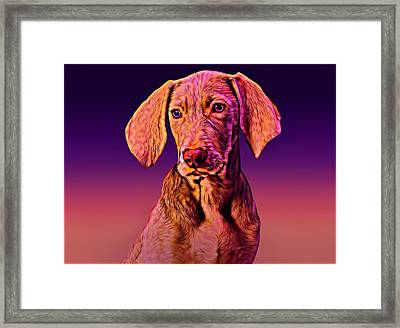 Yong Great Done Framed Print
