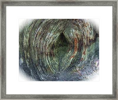 Yoni Au Naturel Une Framed Print