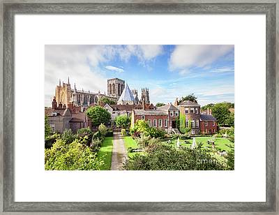 York Minster Framed Print by Colin and Linda McKie