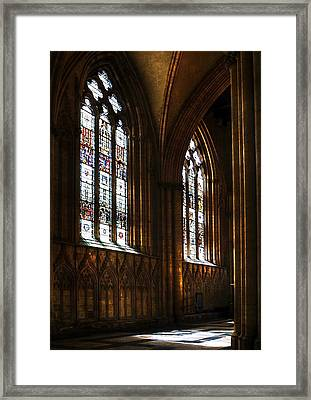 York Minster Framed Print by Svetlana Sewell
