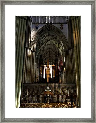 York Minster01 Framed Print by Svetlana Sewell