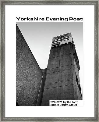 Yorkshire Evening Post Framed Print by Philip Openshaw