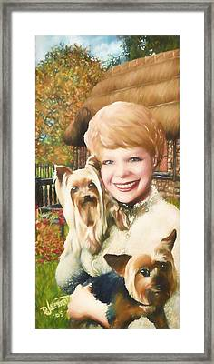 Yorkshire Lady Framed Print by Dave Luebbert