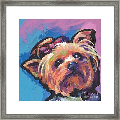 Yorkshire Puddin Framed Print by Lea S