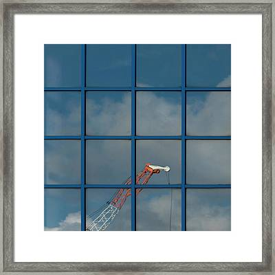 Yorkshire Windows 14 Framed Print