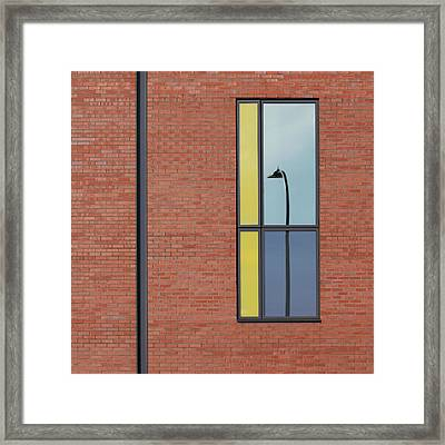 Yorkshire Windows 4 Framed Print