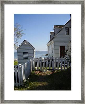 Yorktown Framed Print