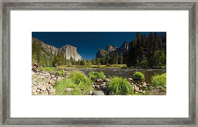 Framed Print featuring the photograph Yosemite - El Capitan by Gary Cloud