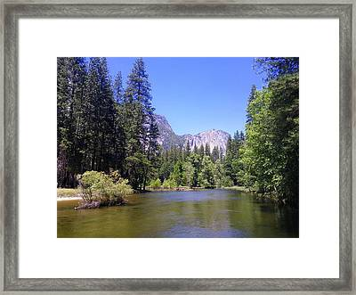 Yosemite Lifestyle Framed Print