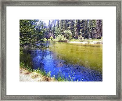 Yosemite River Framed Print