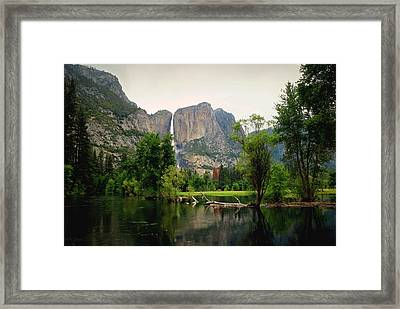 Yosemite A Scenic View To Remember Framed Print