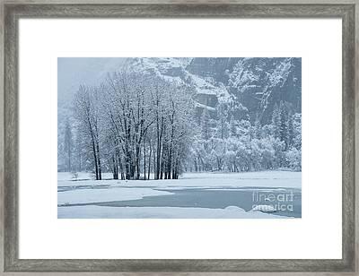 Yosemite - A Winter Wonderland Framed Print