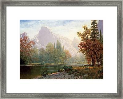 Yosemite Framed Print by MotionAge Designs