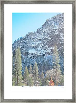 Yosemite Chapel Framed Print