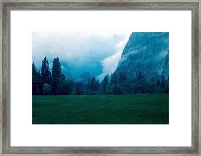 Yosemite Clouds II Framed Print by Chris Gudger