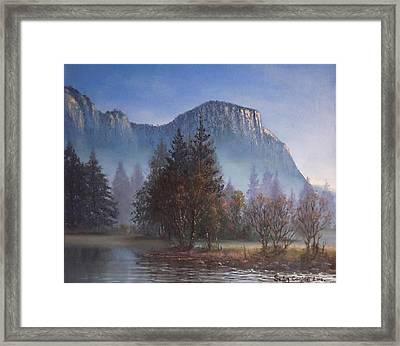 Yosemite Dawn Framed Print by Sean Conlon