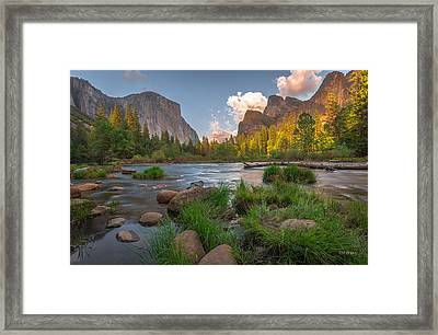 Yosemite Evening Framed Print